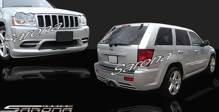 Custom Jeep Grand Cherokee  SUV/SAV/Crossover Body Kit (2005 - 2007) - $1450.00 (Part #JP-005-KT)